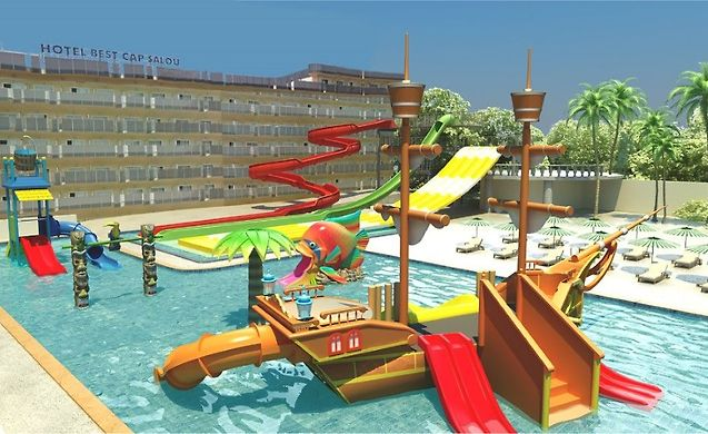 Hotel best cap salou salou for Hoteles en salou con piscina